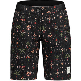 Maloja AnemonaM. Printed Multisport Shorts Women moonless woodpieces